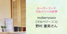 あるあるラジオ11月28日(水)は「スーパーフードマルベリーの世界」mulberrycoco(マルベリーココ) 野村重美さん